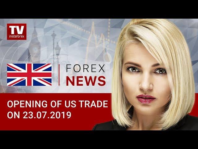 23.07.2019: USD advancing across board (USD, CAD)