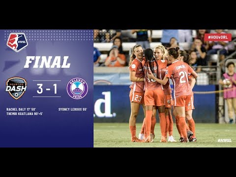 Houston Dash verslaat Orlando Pride