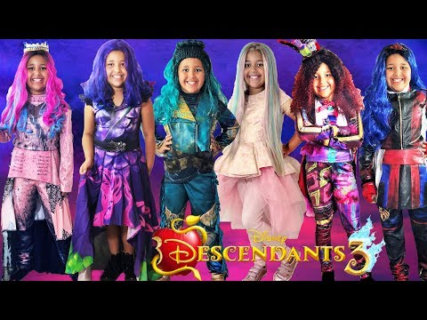 Download Disney Descendants 3 Halloween Costumes and Toys Mp4 HD Video and MP3