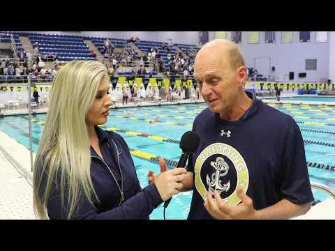 2019 Navy Swimming and Diving - Rowdy Gaines Interview