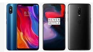 Xiaomi Mi 8 vs OnePlus 6 - Comparison