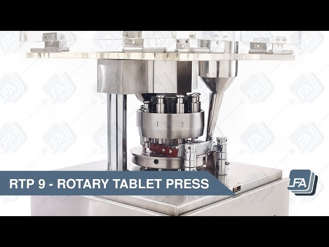 RTP 9 Rotary Tablet Press