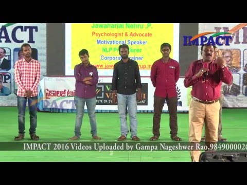 Spoken English|Jawaharlal Nehru|TELUGU IMPACT Hyd Mar 2016