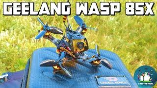 ✅ FPV Квадрокоптер Geelang WASP 85X 260mAh 2S F4, 57 gramm! ????