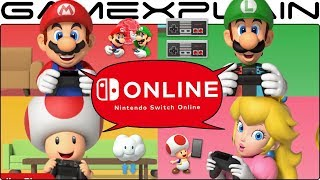 Nintendo Switch Online Impressions! NES Online, Game Sharing, Rando Chat, Cloud Saves - DISCUSSION - dooclip.me