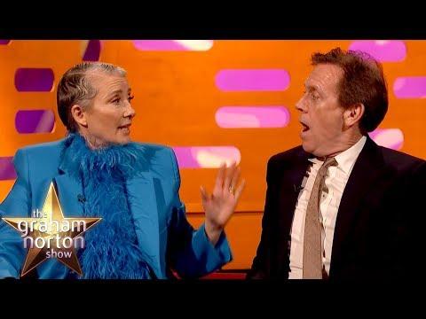 Emma Thompson snědla svému manželovi výtvor do soutěže a Hugh Laurie natáčel se lvem