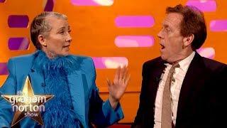Emma Thompson Drunkenly Ate Her Husband's Great British Bake Off Cake   The Graham Norton Show