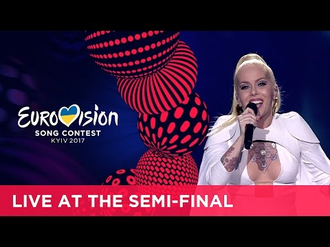 Svala - Paper (Iceland) LIVE at the first Semi-Final