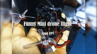 Funny Mini drone flight - Appa FPV