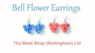 Bell Flower Earrings : DIY