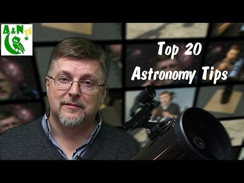 Top 20 astronomy tips.