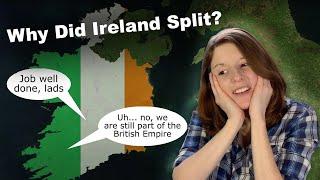American Reacts to Why Ireland Split Into the Republic of Ireland & Northern Ireland | WonderWhy