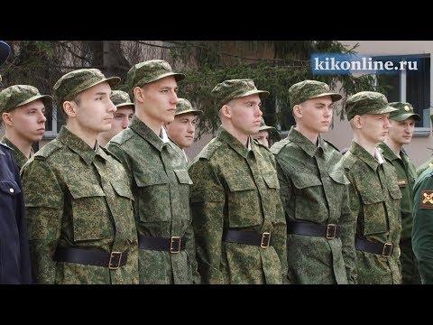 Проводы в Президентский полк