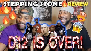DADS REACT | STEPPING STONE x EMINEM | IS D12 OVER ?? | REACTION & BREAKDOWN