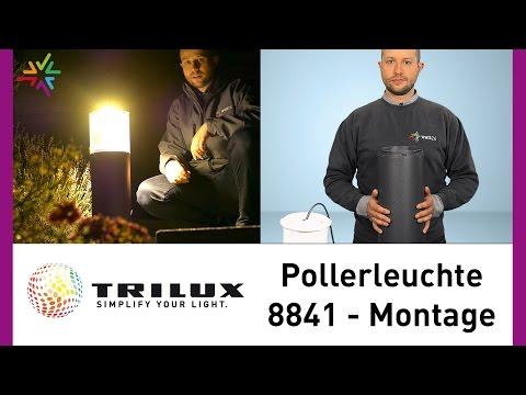 TRILUX LED Pollerleuchte 8841 - Montageanleitung