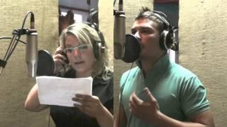 Video Romance na vodě (záznam z nahrávání ve studiu)