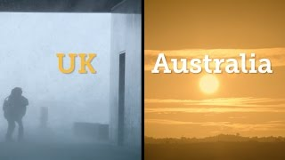 Solar Smackdown - Australia vs UK