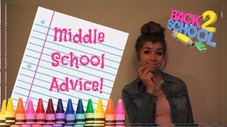 My Middle School Advice & First Day Of School Outfit Inspiration!