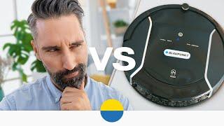 Mensch vs. Technik - Staubsaugerroboter im Test