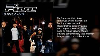 Five: 06. Let's Get It On (Lyrics)
