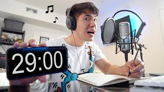 i tried to write a rap song in 30 minutes... 😅🎵🔥