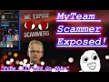 EXPOSING 14 YEAR OLD MyTeam SCAMMER NBA2K20!!