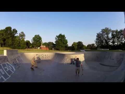 12 skateparks in 48 hours. (Kansas)