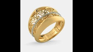 Bluestone Rings In Gold With Price