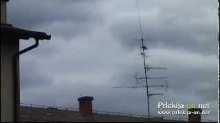 Močan veter v Ljutomeru