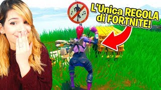 COME INFRANGERE L'UNICA REGOLA DI FORTNITE!!