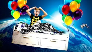 Ростя стал КОСМОНАВТОМ! - Kids pretend play Space