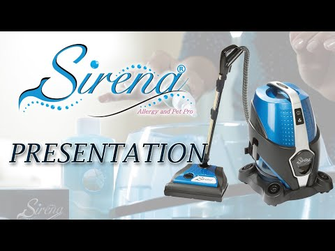 Water Vacuum Cleaner Presentation - Sirena
