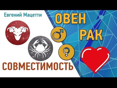 Овен и Рак. Гороскоп совместимости ♥ Любовный и сексуальный гороскоп