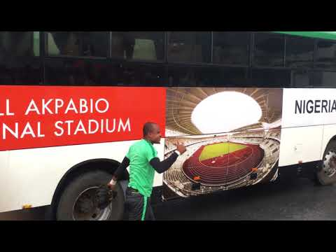 ROAD TO RUSSIA 2018: Super Eagles Arrive For Day 2 Training Ahead Zambia Match
