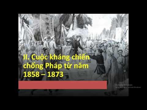 Lịch sử 8 : Cuộc kháng chiến chống Pháp (1858_1873) tt