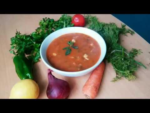 """Суп томатный """"Харира"""" Марокканская кухня  Moroccan soup"""