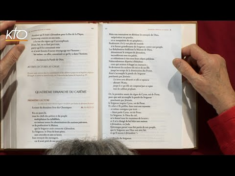 4e dimanche de Carême B - 1re lecture