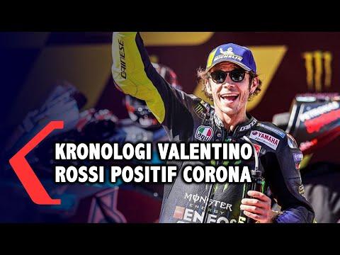 valentino rossi pebalap motogp pertama yang terinfeksi corona