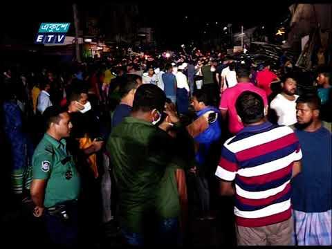 কল্যাণপুরের নতুন বাজার বস্তিতে আগুনের ঘটনায় দোকানসহ ৪০টি ঘর পুড়ে গেছে | ETV News