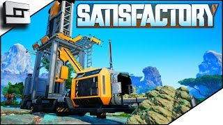 LOST FOOTAGE! Early Game Mining Setup! Satisfactory Gameplay E2