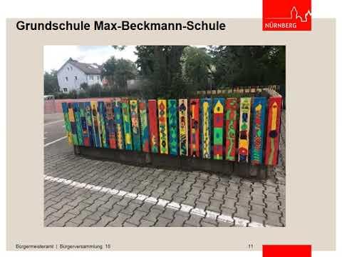 Bürgerversammlung - Bereich 18 - 18.10.2018 (видео)