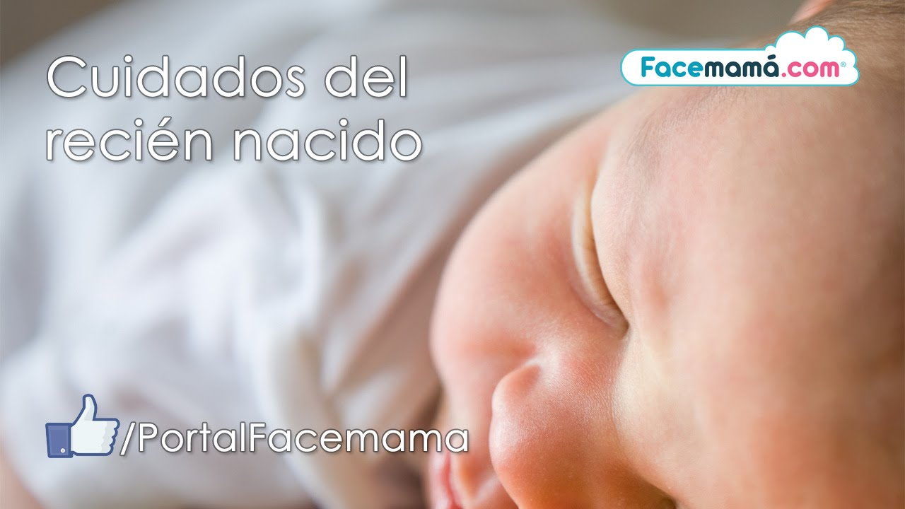 Cuidados del recién nacido - Facebook en vivo -  25-07-2016