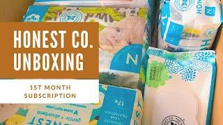 Honest Company Subscription - Unboxing