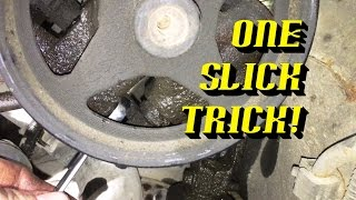 Ford Quick Tips #75: C-III Power Steering Pump Removal Trick!