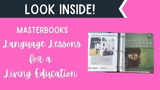 Language Lessons For A Living Education Level 4 | Part 1| Masterbooks Curriculum Sped Up Version