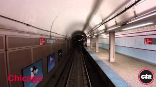 CTA Ride the Rails: Red Line to Howard in Real