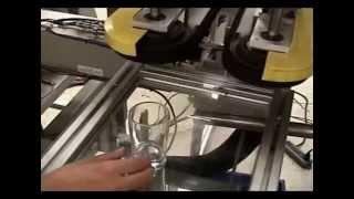 250 W CO2 Laser Glass Marking System XYZ Motion