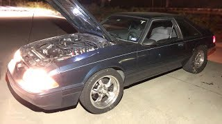 Turbo Mustang RESCUES stranded videographer from the Texas Streets!