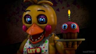 All FNAF characters sing build our machine | BENDY song by
