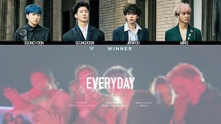 WINNER   EVERYDAY MV + Lyrics Color Coded HanRomEng